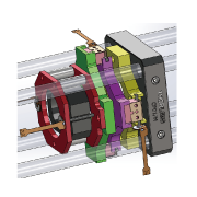 超音波モータ ケージシステム駆動系参考図