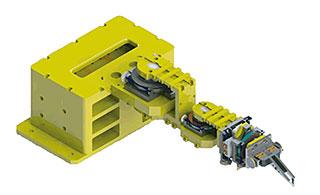 スカラー・ロボット(5軸:回転3軸+Z軸+フィンガー)