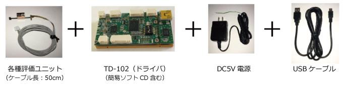 TULA評価用キット構成